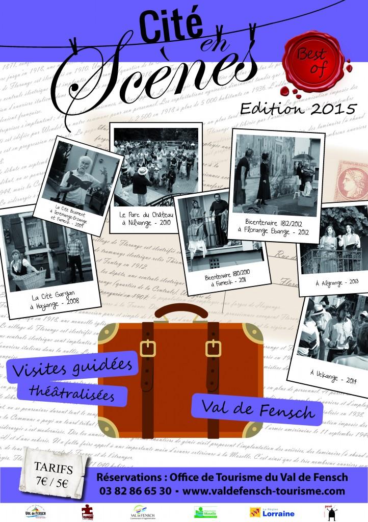 Affiche Cité en Scène 2015, site mail