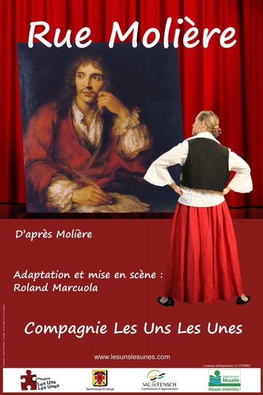 Affiche Rue Molière site